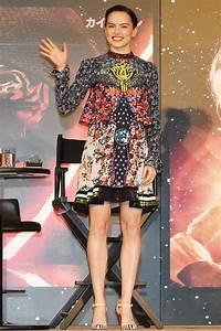 Daisy Ridley in Mary Katrantzou – 'Star Wars: The Force ...