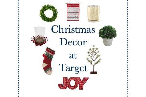 top  target christmas decor finds laura trevey