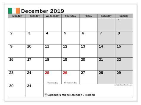 december  calendar ireland michel zbinden en