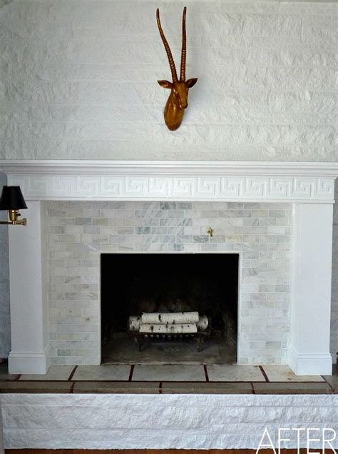 diy fireplace makeover before after reveal hometalk