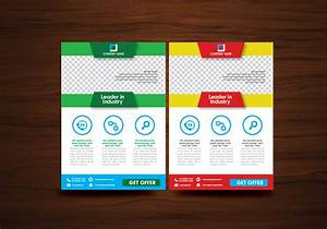vector brochure flyer design layout template vector With flyers layout template free