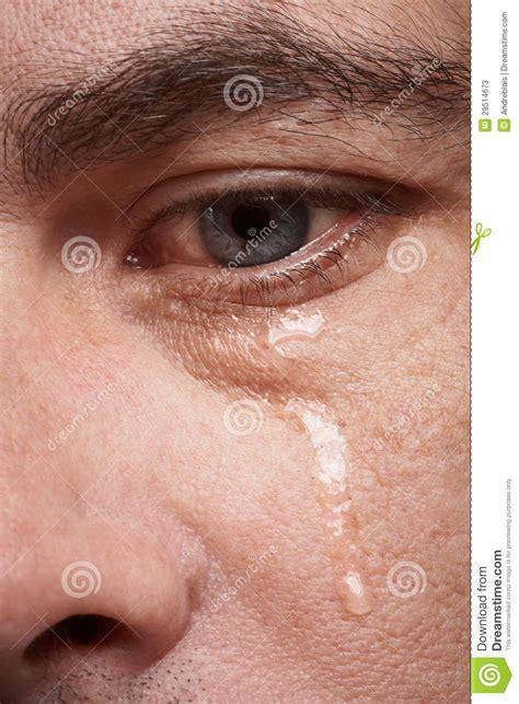 crying man stock  image