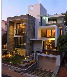 Moderne Design Villa : best 25 villa design ideas on pinterest house elevation modern architecture and modern villa ~ Sanjose-hotels-ca.com Haus und Dekorationen