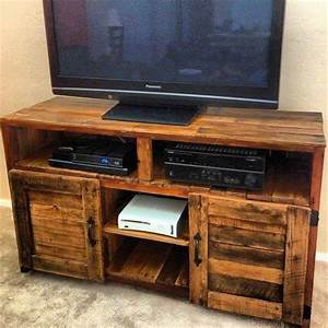 Pallet Tv Stand Plans Plans DIY Free Download outside