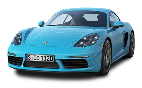 Porshe Car by Porsche 718 Cayman S Blue Car Png Image Pngpix