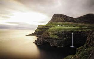 Gasadalur faroe island Wallpapers Pictures Photos Images