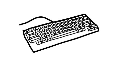 huge collection  keyboard drawing