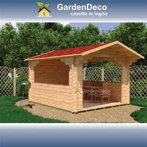 Costruzione Gazebo In Legno Gazebo Prefabbricato In Legno 4x4 Da Giardino Gardendeco