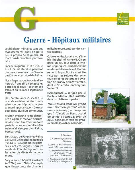 chambre agriculture 59 hôpitaux militaires guerre 14 18