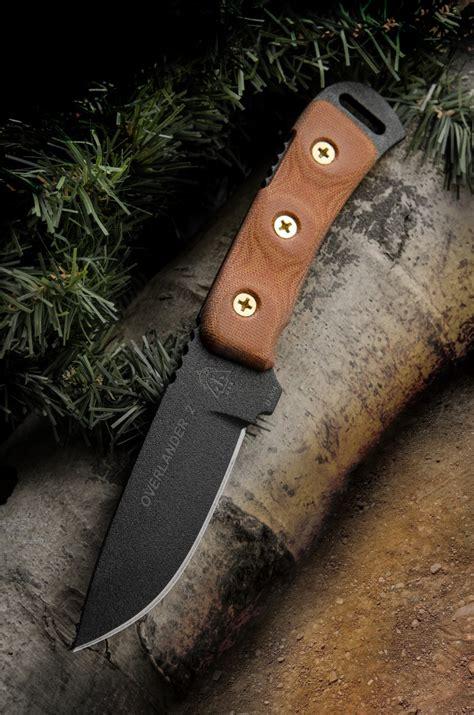 tops knives overlander  fixed   carbon steel blade