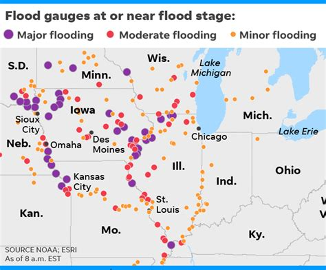midwest flooding triggered  bomb cyclone thousands evacuate