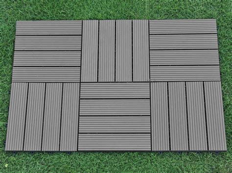 outdoor flooring composite interlocking decking tile