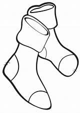 Socks Coloring Socks3 sketch template
