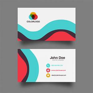50 magnificent free business cards design templates With free online business card templates and designs