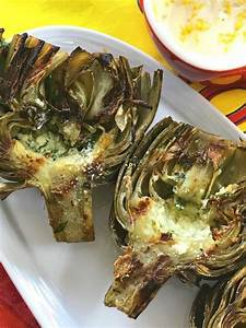 how to make grilled artichokes italian style grilled