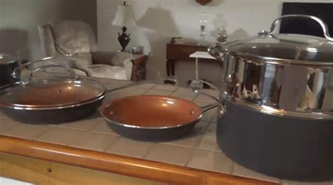 gotham steel pan reviews   copper pans