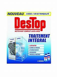 Produit Nettoyant Machine à Laver : destop nettoyant complet lave linge 500 ml lot de 2 ~ Premium-room.com Idées de Décoration
