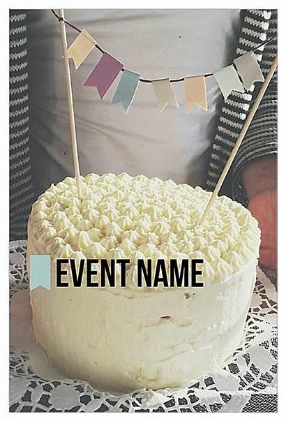 Invitation Templates Cake Template Card Piece Cards