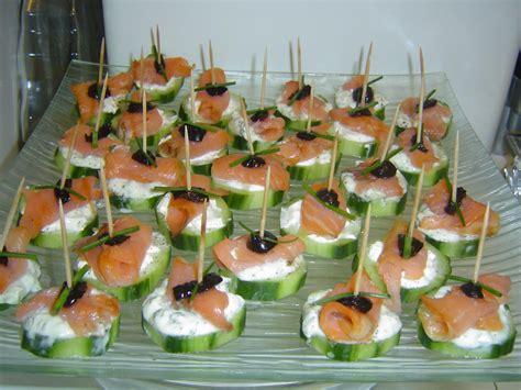 canap saumon fum photos canapé saumon fumé
