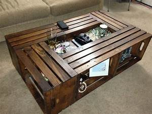 12 best crate coffee tables images on pinterest crate With coffee table made from crates