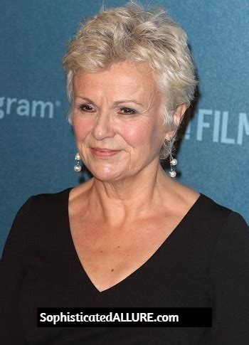 hairstyles julie walters short choppy layered hairstyle