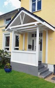 Holz Vordach Hauseingang : vord cher von hamann holz vordach f r die eingangst r vordach hauseingang vordach und ~ Watch28wear.com Haus und Dekorationen