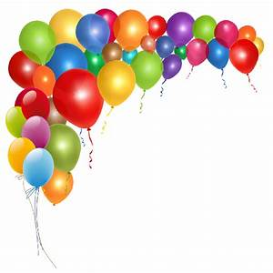 Balloon clipart party - Pencil and in color balloon