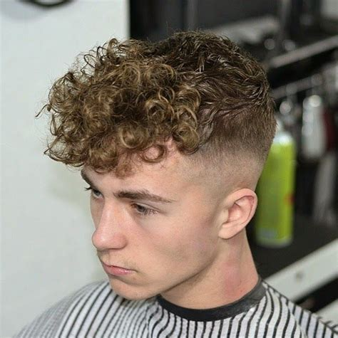 best mens hairstyle trend for curly and straight hair the