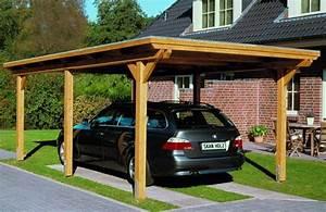 Carport Vor Garage : der carport die g nstige alternative zur garage ~ Lizthompson.info Haus und Dekorationen