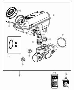 2018 Dodge Grand Caravan Master Cylinder  Brake  Wheel  Disc  Lock