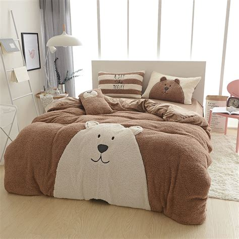 warm comforter sets bed linen designer winter warm bedding sets