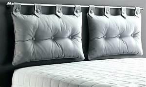 Coussin Rectangulaire Ikea : tete de lit avec oreillers tete de lit oreillers fabriquer ~ Melissatoandfro.com Idées de Décoration
