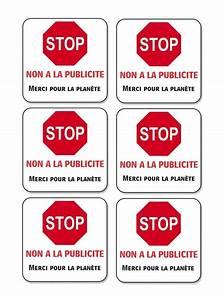 Etiquette Pour Boite Aux Lettres : tiquettes stop pub pour bo te aux lettres imprimer ~ Dailycaller-alerts.com Idées de Décoration