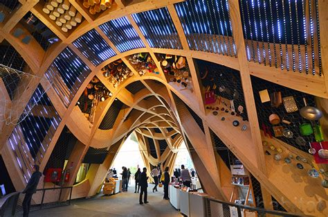 expo moderne x tu s architects milan expo pavilion evokes the iconic food markets of inhabitat