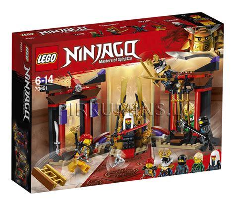 70651 LEGO® Ninjago Konfrontācija troņa zālē, no 6 līdz 14 ...