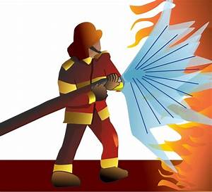 Firefighter  Pompier Free Vector In Open Office Drawing Svg