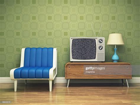 retro interior design stock photo getty images