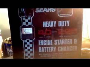 Old Sears Heavy Duty Engine Starter  U0026 Battery Charger