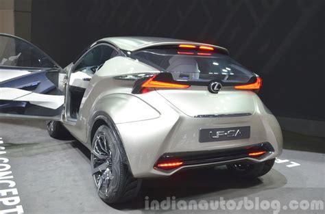 Lexus Lf Sa Concept Rear Three Quarter3 View At 2018