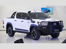 Toyota HiLux 2018 range expansion Rogue, Rugged and