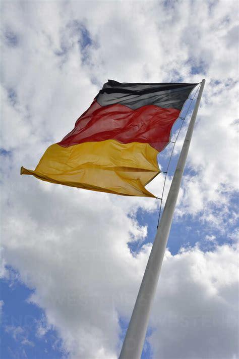 Germany, Bavaria, German flag - AXF000716 - Axel Ganguin ...