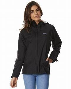 Patagonia Womens Torrentshell Jacket - Black   SurfStitch