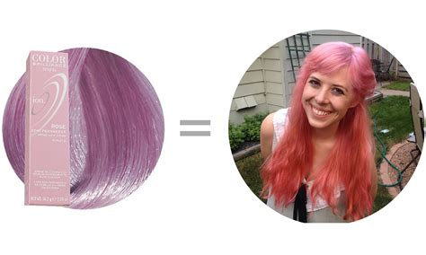 How To Dye Your Hair With Ion Color Brilliance Brights