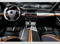 BMW 5 Series 'The Ripper' Custom Interior from Carlex