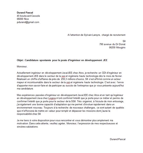 lettre de motivation cabinet de recrutement exemple lettre de motivation recrutement it