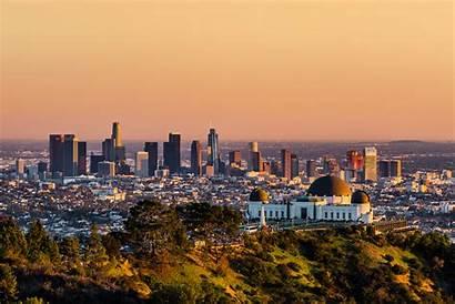 Angeles Sunset Tramonto California Gratte Lugares Area