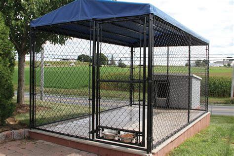 chain link wire dog kennels indoor outdoor confinement