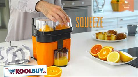 orange juicer electric double