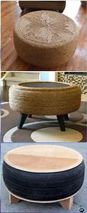 Diy recycled old tire furniture ideas projects for home for Homemade furniture instructions