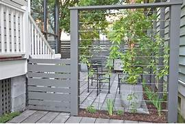 Fence Ideas Decorating Ideas Gallery In Landscape Modern Design Ideas Paloma Gate 1 8 X Buy Fencing Direct Can This Type Of Privacy Screen Be Built In Your Front Yard In Austin Of Small Garden Fences Building A Decorative Modern Garden Fence